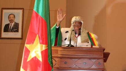 Clément Atangana et son équipe ont prêté serment le 6 mars