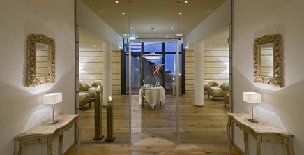 Eichenparkett geölt gebürstet in der Wellness Hotel Allalin Zermatt