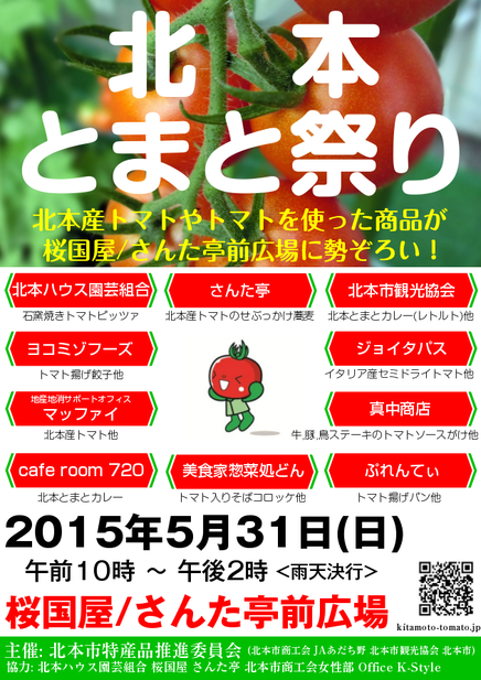 第2回北本とまと祭りポスター