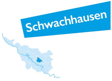 Schwachhausen, Bremen, Stadtteil, Karte