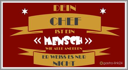 Spruch Chef