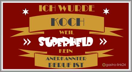 Spruch Koch
