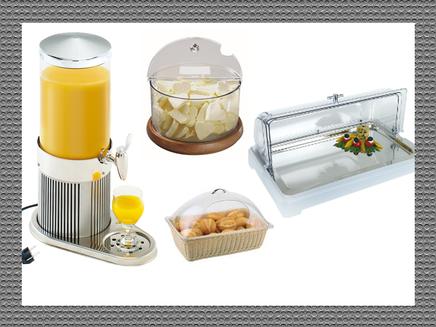 Kühlmöglichkeiten für Buffets