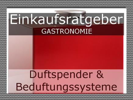 Beduftungssystem Gastronomie