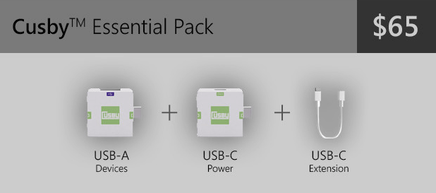 Cusby Essential Pack