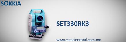 Estacion Total Sokkia SET3330rk3