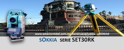 Estacion Total Sokkia SET530RK3