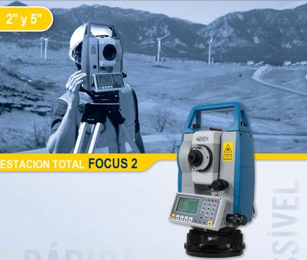 estaciones totales spectra precision focus2