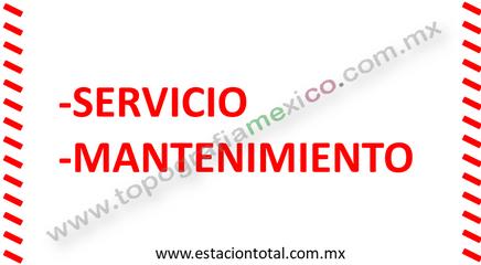 servicio mantenimiento estacion total