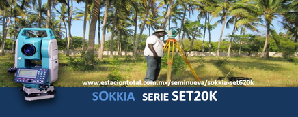 ESTACION TOTAL SOKKIA SET620K