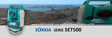estacion total sokkia set500