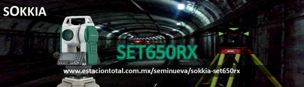 estacion total sokkia set650rx