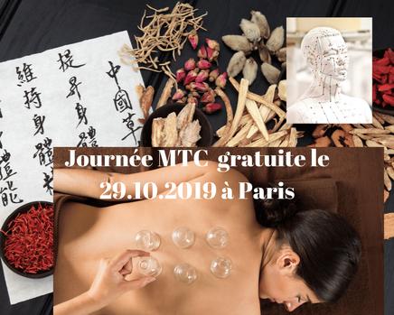 Journée gratuite sur la MTC à Paris le 29.10.2019.