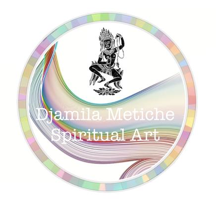 Djamila Metiche spiritual art / spirituelle Kunst