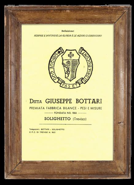 Fabbrica di Bilance Bottari.