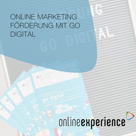 Online Marketing Förderung mit Go Digital