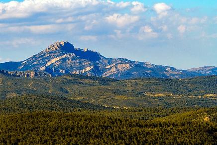 Parque Natural protegido de Penyagolosa en Castellón, Comunidad Valenciana  (España)