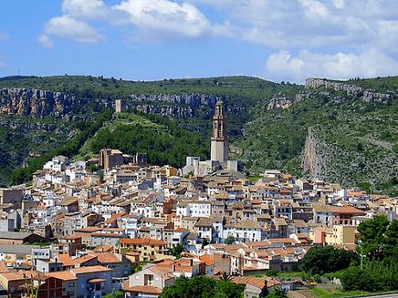 Jérica (Castellón) se encuentra en la  Comunidad Valenciana.