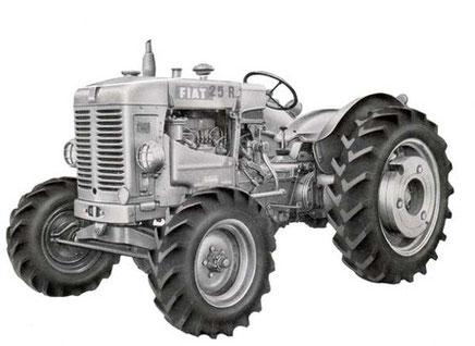 Fiat Traktor 25R DT