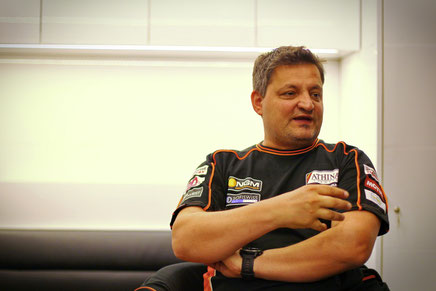 Sergio Verbena, Crew-Chief von Stefan Bradl beim Forward Racing Team