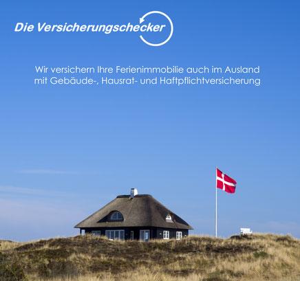 Ferienwohnung und Ferienhaus im Ausland versichern