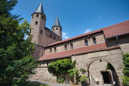 Foto der Klosterkirche vom Kloster Drübeck