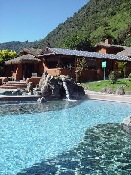 Das Hotel Termas de papallacta in Ecuador ist ein Muss für Ihre Rundreise