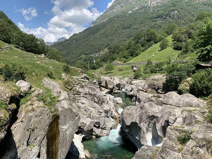 Einblick ins Verzasca Tal