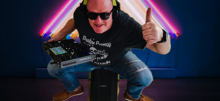 Der mobile LED Tanzboden - exclusive @ DJ Burny