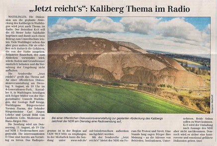 Quelle: Cellesche Zeitung, 06.08.2016