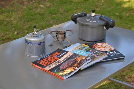 Kochen beim Campieren
