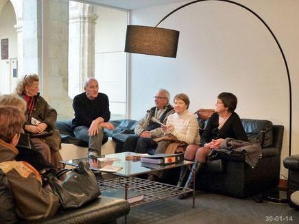 Visite de la Coursive - Jackie Marchand - 30-01-14