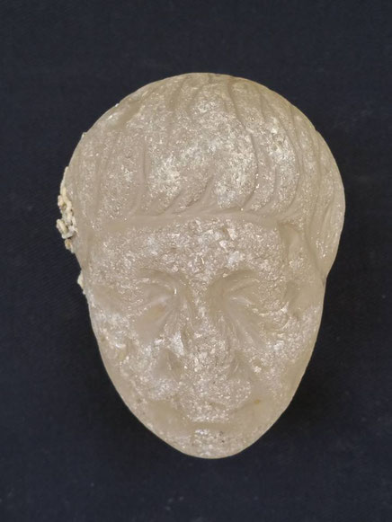 Crystal head found in Roman shipwreck off coast of Alexandria