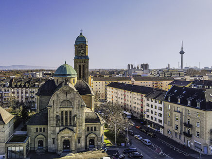 Mannheim, Mannheim Images, Fotodrucke, Thomas Seethaler, Thomas Seethaler Fotografie, St. Bonifatius Mannheim, Kirche, Mannheim Neckarstadt-Ost