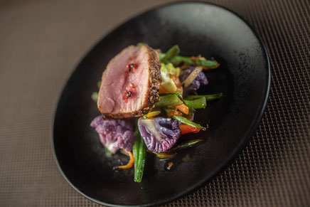 recette foie gras et jus de truffe