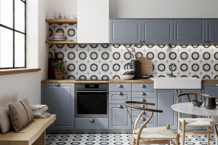 Keukentegels in elke stijl vind je bij De Tegel Expert