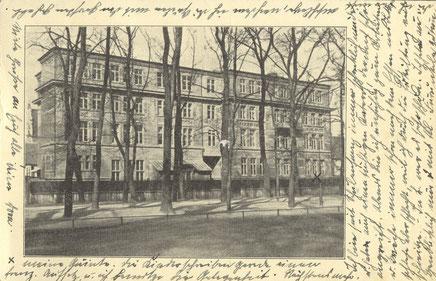 Steingymnasium an der Sonnenstraße - Foto Sammlung Henning Stoffers