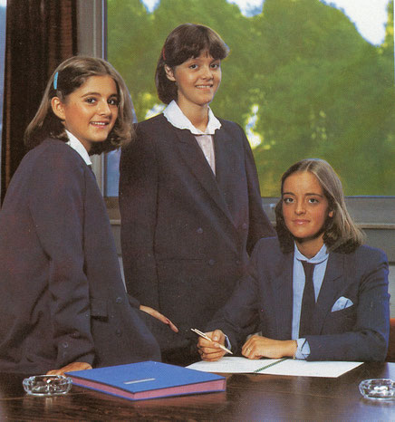 Von links Nicole, Kirsten und Monica