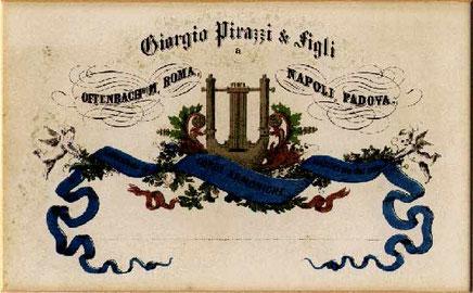 Гербовая эмблема Pirastro