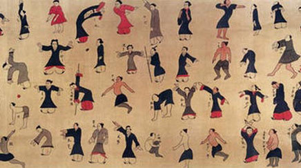 Abbildung von Ma Wang-Dui Qi Gong-Übungen