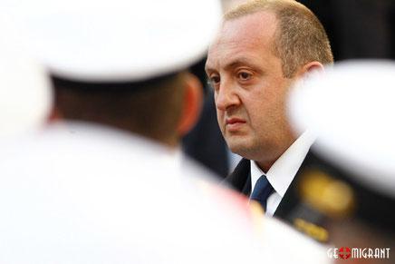 Президент Грузии: Мы не допустим войну!