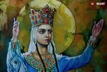 Установлена причина смерти великой Царицы Грузии Тамара