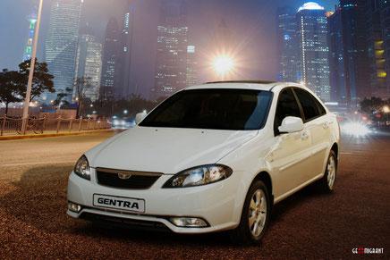 Daewoo Gentra представлен для автомобилистов Грузии