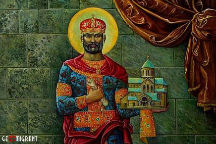 Грузинская Православная Церковь сегодня отмечает день памяти великого царя Грузии Давида Агмашенебели