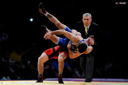 Молодежная сборная Грузии по вольной борьбе завоевала четыре золотых медалей в Софии