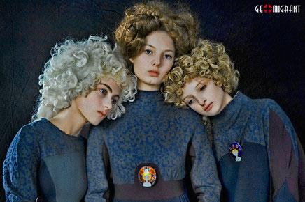 Грузинский дизайнер Рия Кебурия продолжает удивлять всех на Московских неделях моды