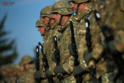На Вазианской военной базе в Грузии произошло массовое отравление военнослужащих