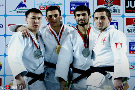 Сборная Грузии по дзюдо завоевало две золотые медали на Гран-при Тбилиси