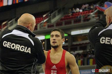 Сборная Грузии по вольной борьбе завоевала 5 медалей в Минске