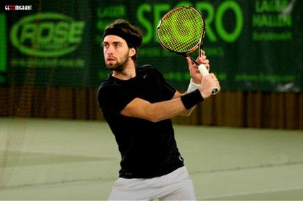 Грузинский теннисист Николоз Басилашвили стал победителем международного турнира «Челленджер»